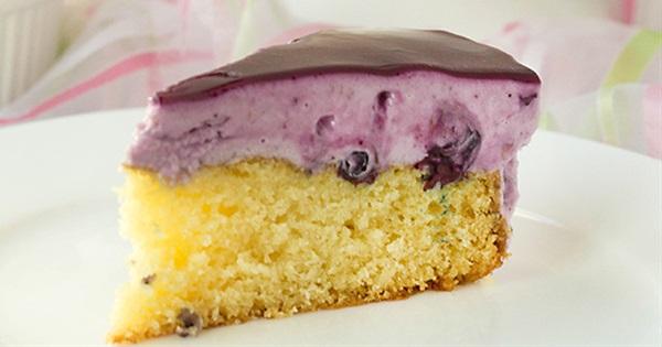 Blueberry Jello Cake