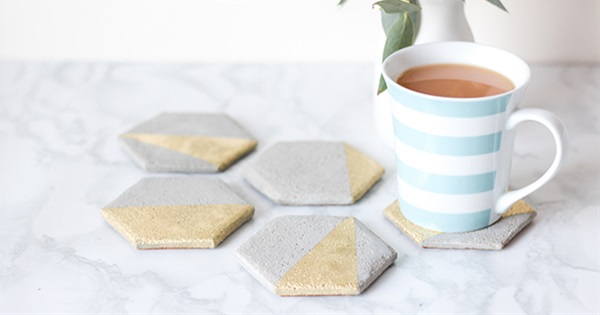 How To Make Your Own Cement Coaster Wedding Favours Postris