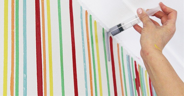 Make Your Own Unique Painted Wall In 5 Quick Easy Steps Postris