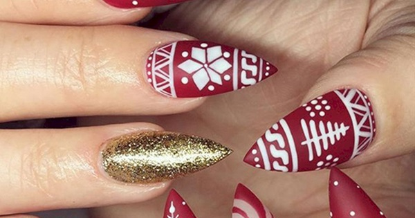 20 Winter Themed Nail Art Styles You Need To See Postris