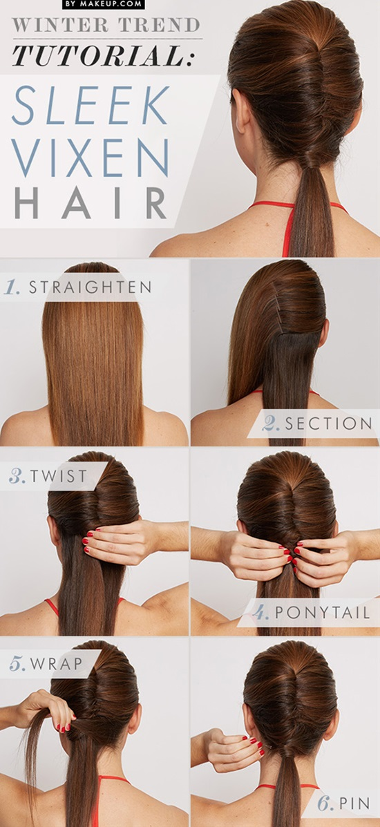 15 Five Minute Hairstyles For Busy Mornings
