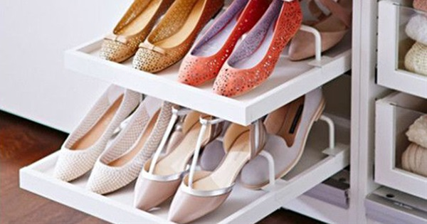 17 Space Saving Ideas For Shoe Storage
