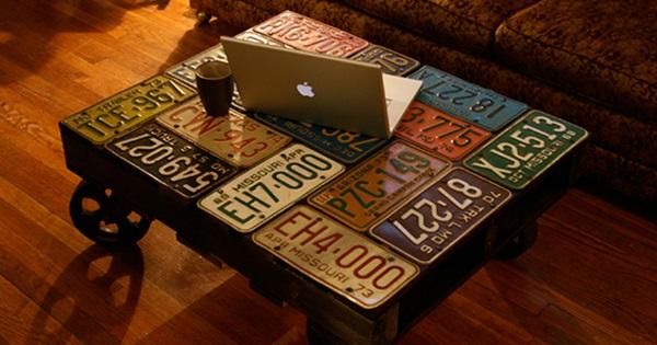 13 amazing decor ideas using old license plates | postris