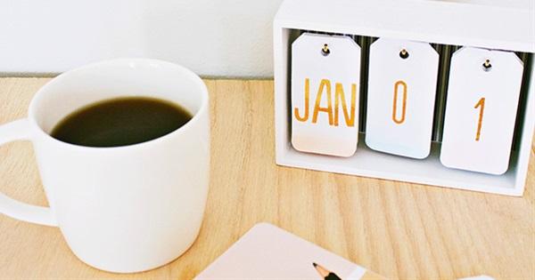 14 Ideas For Ultra-Creative DIY Calendars | Postris