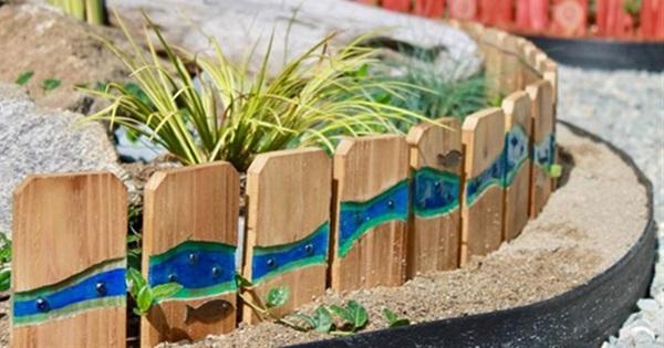 18 Easy Creative Garden Backyard Edging Ideas Postris