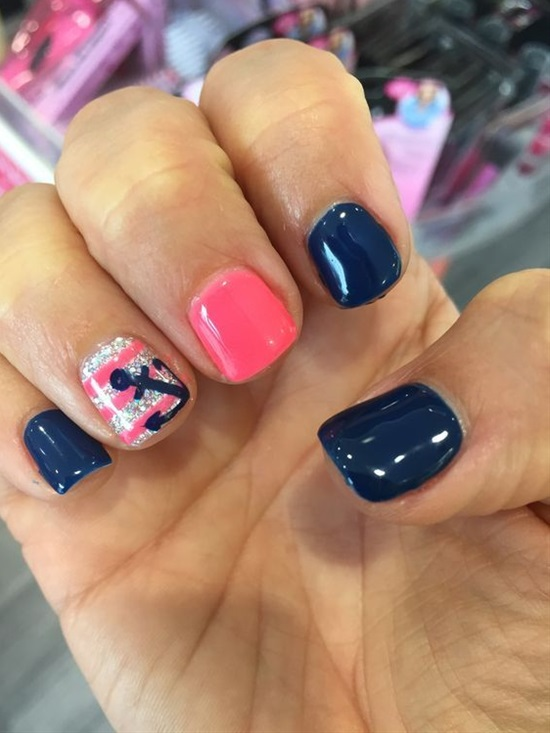 15 Trendy Nail Art Designs For Short Nails
