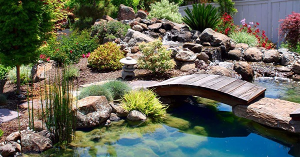 Beautiful 15 Gorgeous Water Garden U0026 Pond Landscaping Ideas