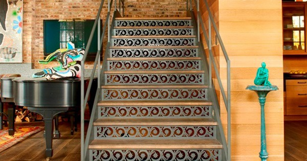 Bon 15 Creative Ideas To Decorate Your Stair Risers